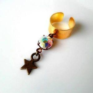 Twinkle Star Ear Cuff Adjustable